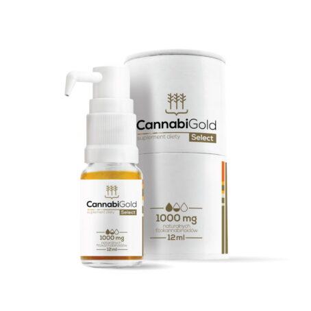 Olej CBD 10% (1000mg) – 12ml CannabiGold