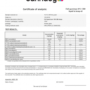 Olej CBD 10% (1000mg) – Cannaby life