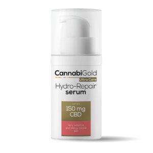 Serum nawilżająco-regenerująceCBD – skóra bardzo wrażliwa – CannabiGold